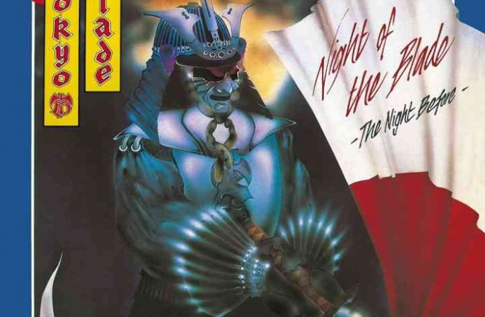 TOKYO BLADE - Night of The Blade - The Night Before - album cover