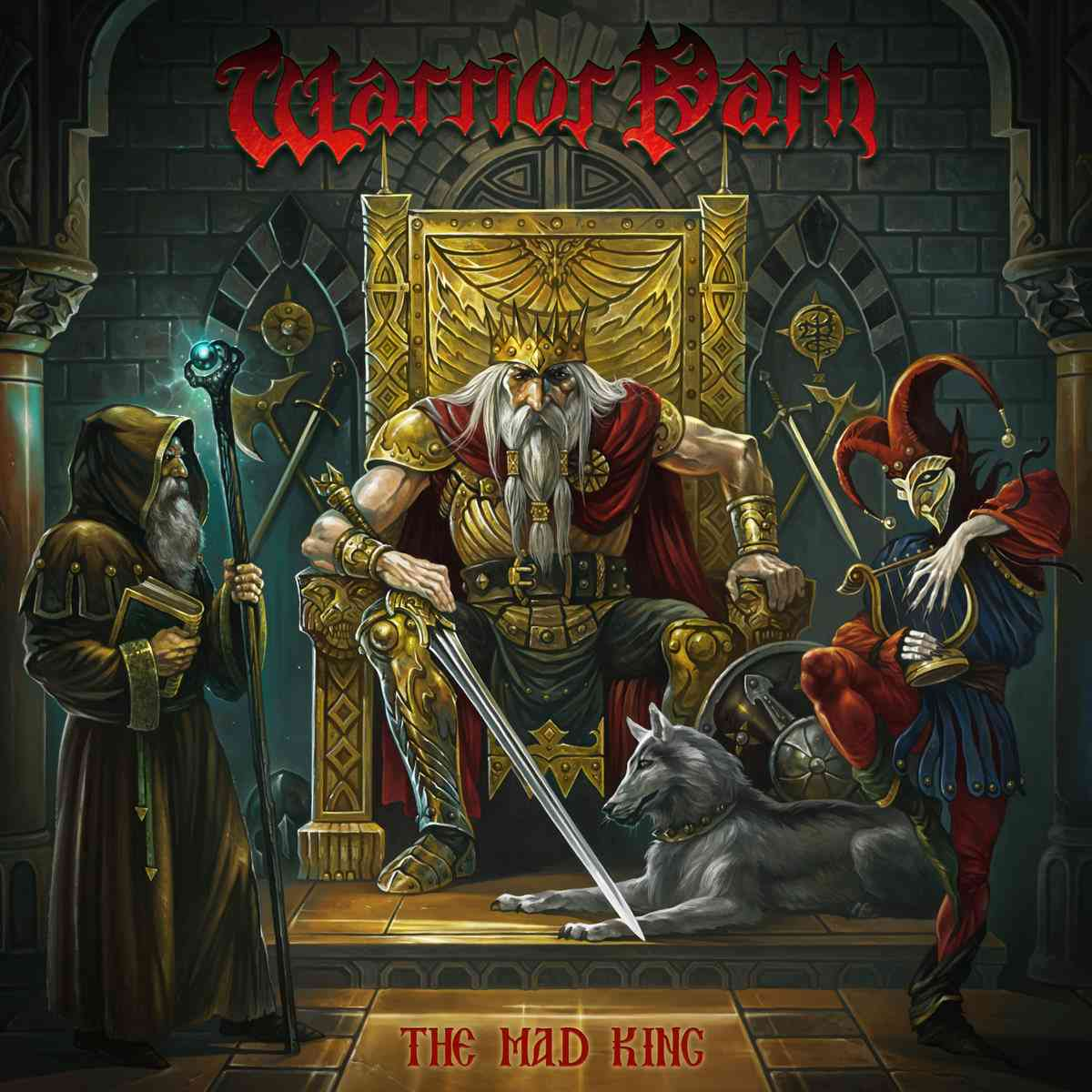 Warrior Path - The Mad King - album cover