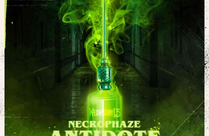 Wednesday 13 - Necrophaze - Antidote - album cover