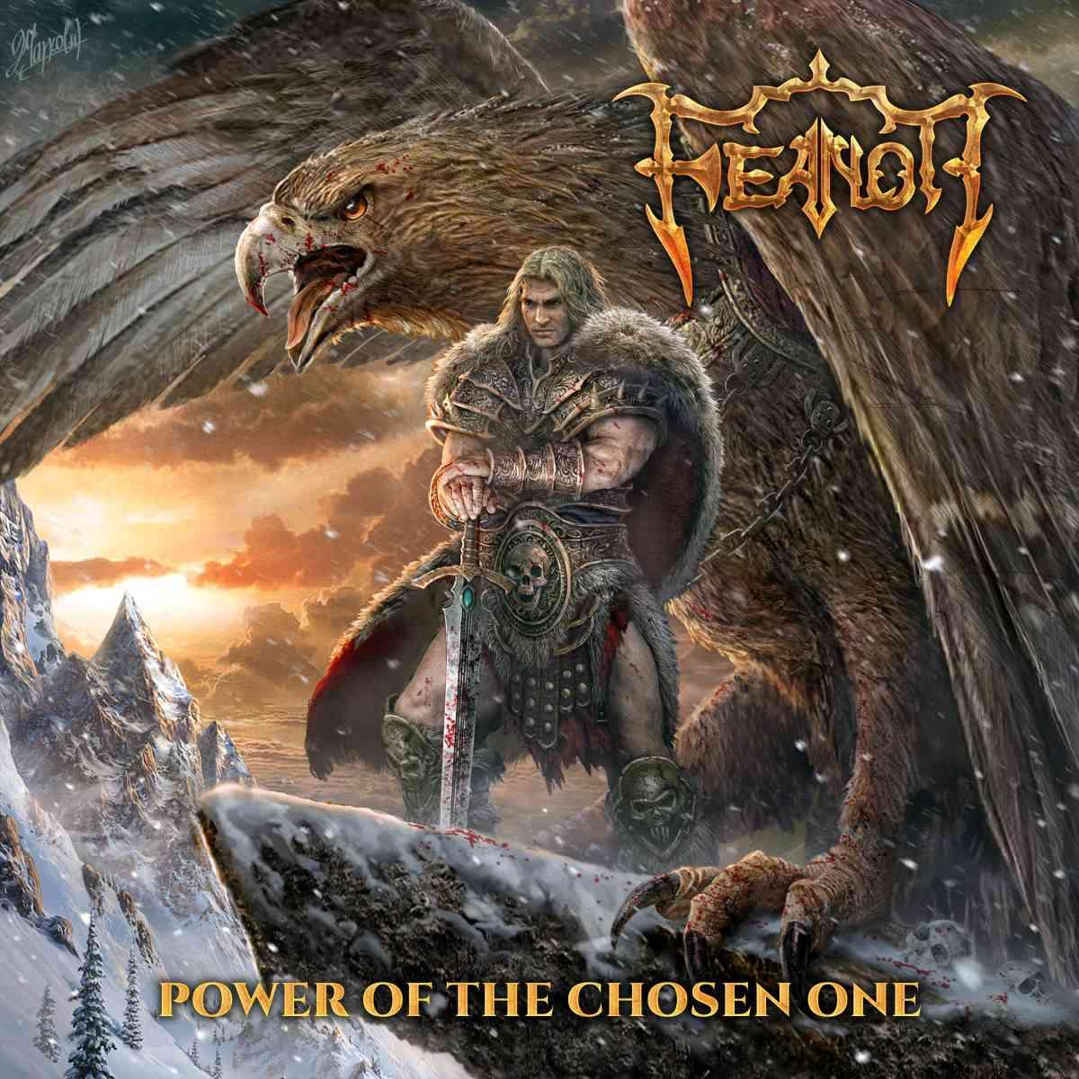 feanor - power of the chosen one - album cover