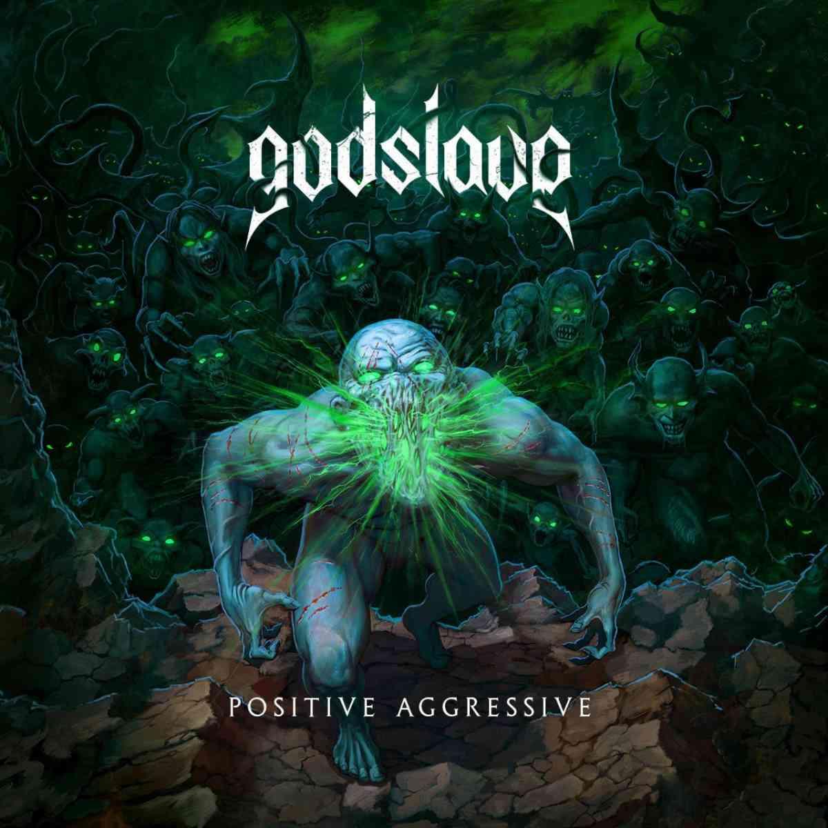 godslave - positive aggressive - album cover