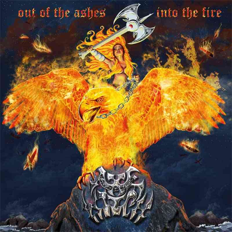 Axewitch - Out Of The Ashes Into The Fire - album cover