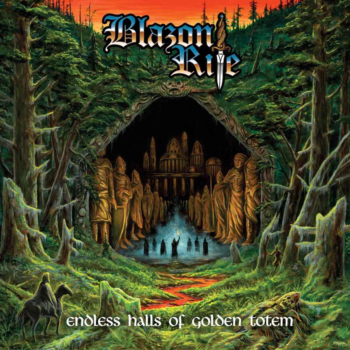 Blazon Rite - Endless Halls Of Golden Totem - album cover