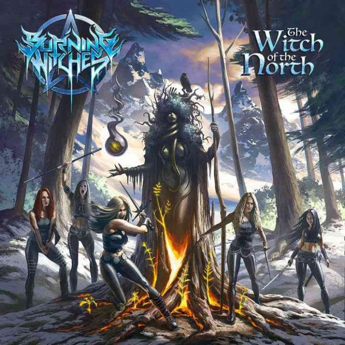 Burning Witches - The Witch Of The North - album cover