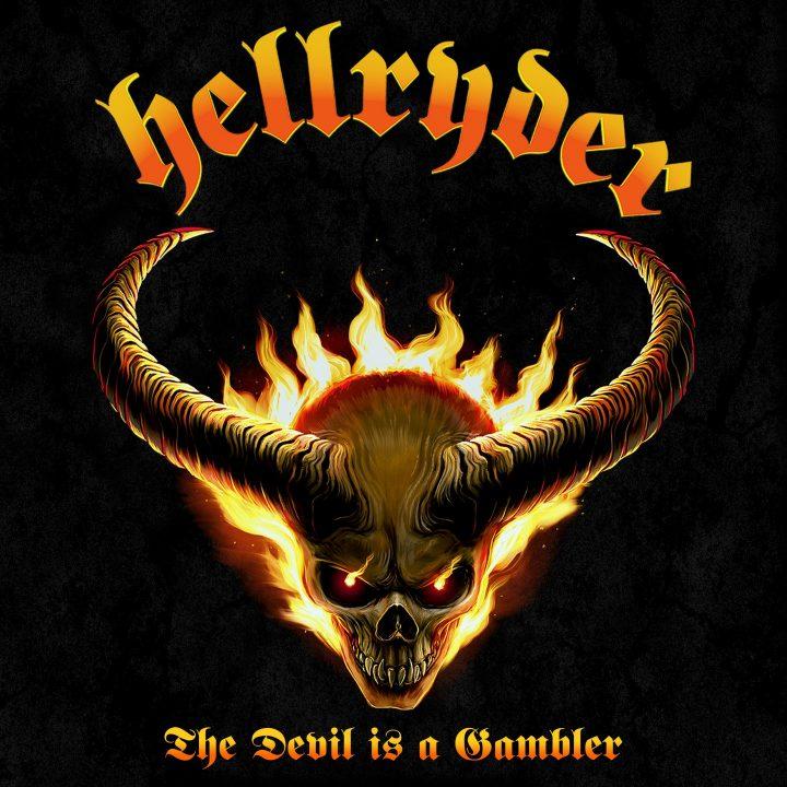 Hellryder – The Devil Is A Gambler - Coverartwork