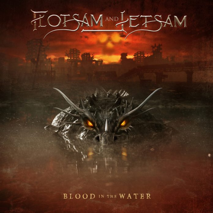 FLOTSAM AND JETSAM - Blood In The Water - Artwork