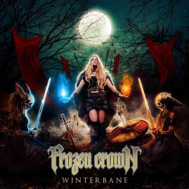 frozen crown - winterbande - album cover