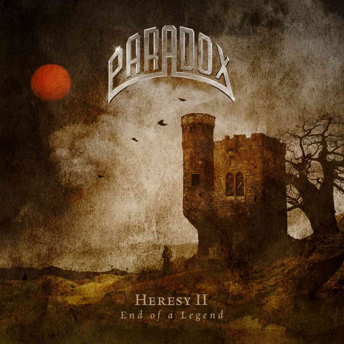 paradox - Heresy II - End of a Legend - album cover