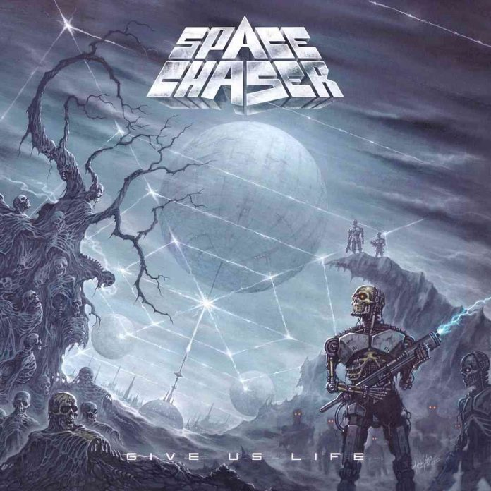space chaser - give us life - album cover