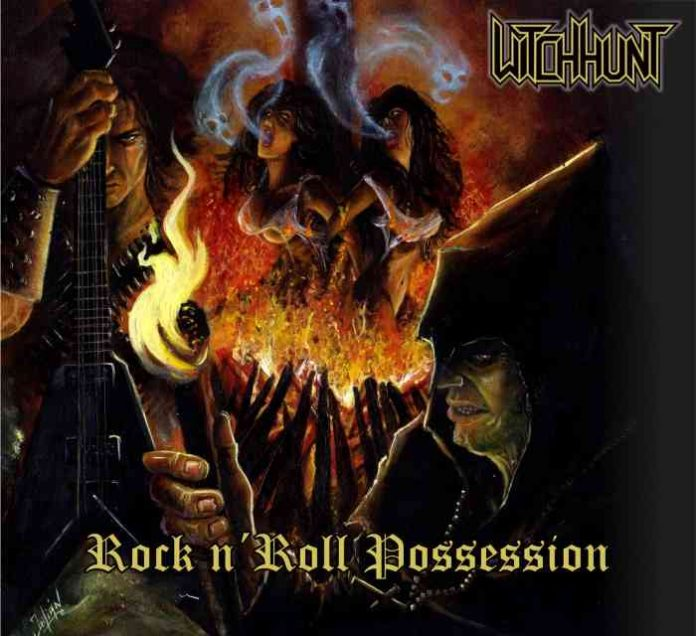 witchhunt - rock n roll possession - album cover