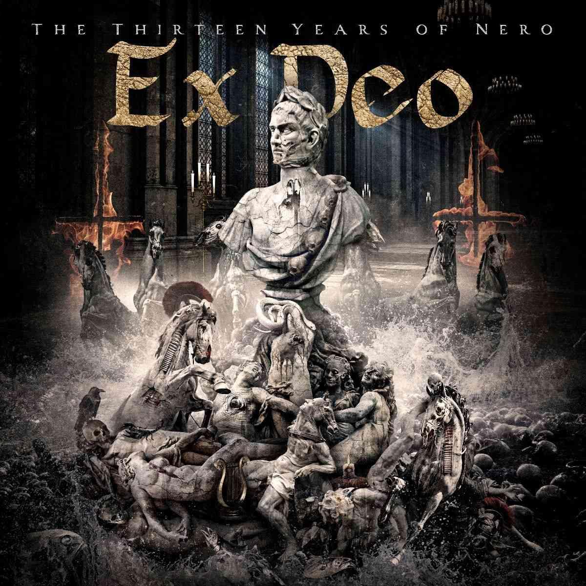 ex deo - The Thirteen Years-Of Nero - album cover
