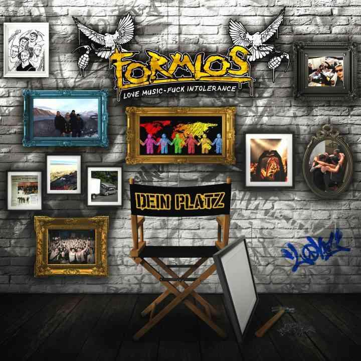formlos - dein platz - album cover