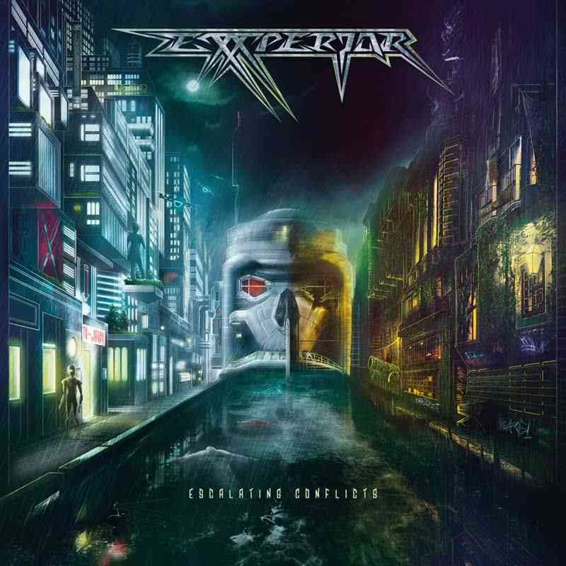 EXXPERIOR - Escalating Conflicts - album cover