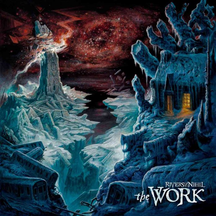 rivers of nihil - the work - album cover