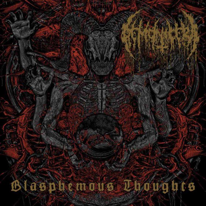 DEMONICERA - Blasphemous Thoughts - album cover