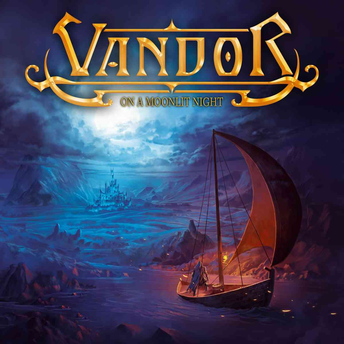 Vandord - On A Moonlit Night - album cover