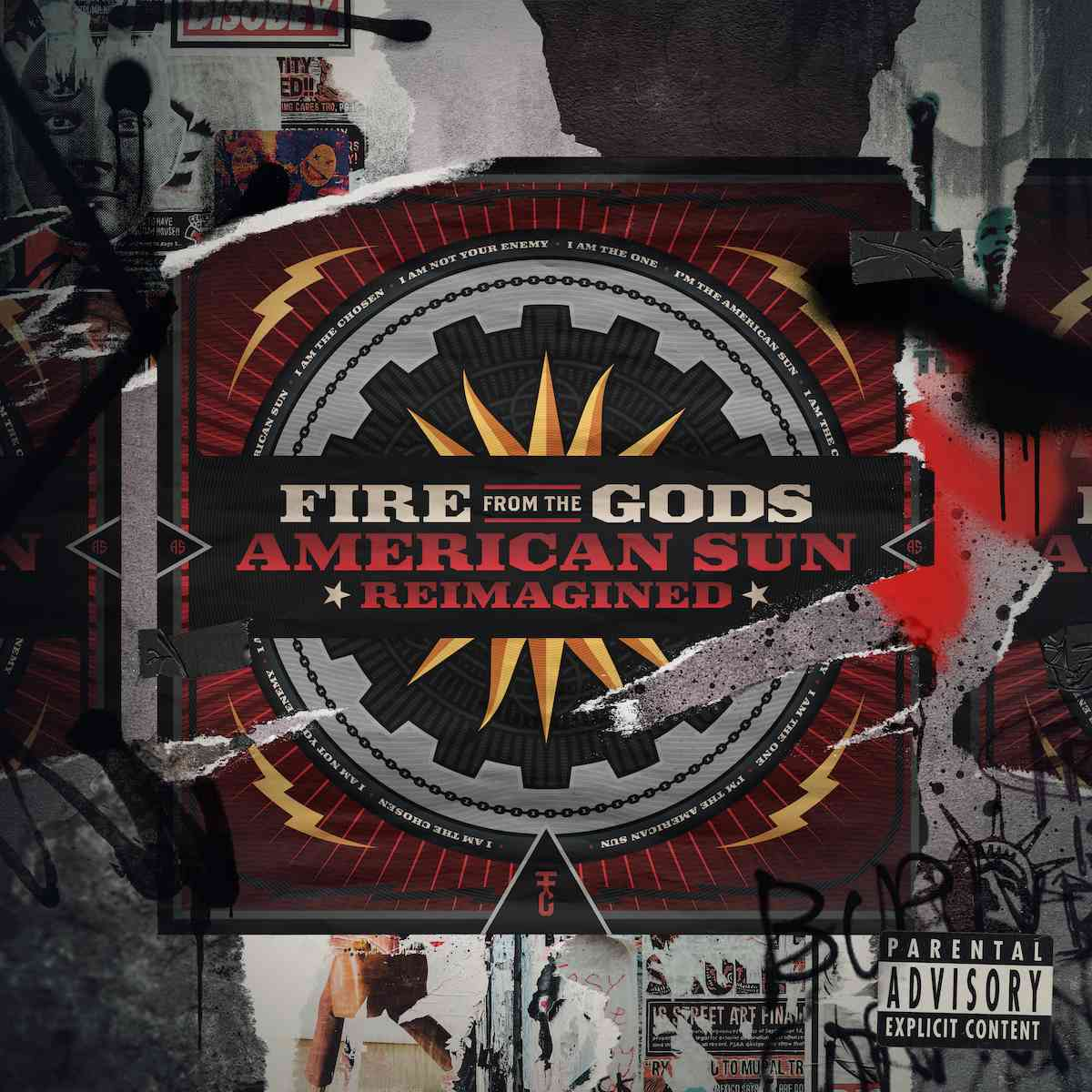 fire from the gods - American-Sun - Reimagined - album cover