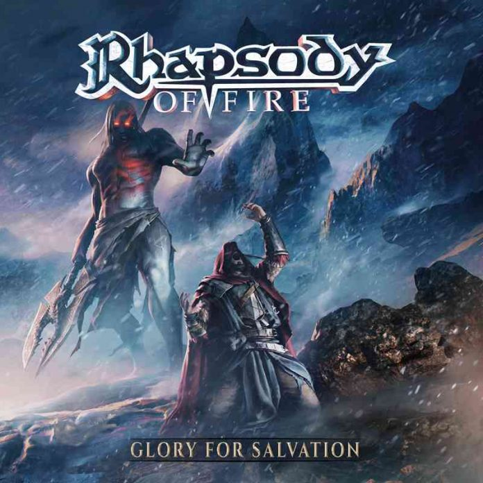 RHAPSODY OF FIRE - glory for salvation - album cover
