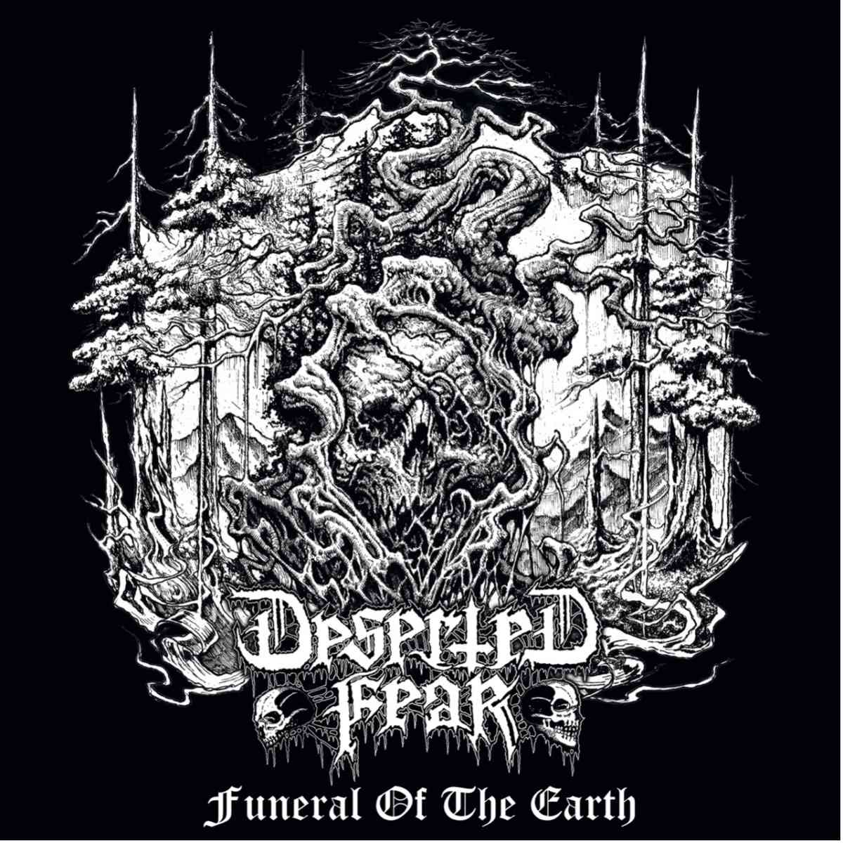 deserted fear - Funeral Of The Earth - album cover