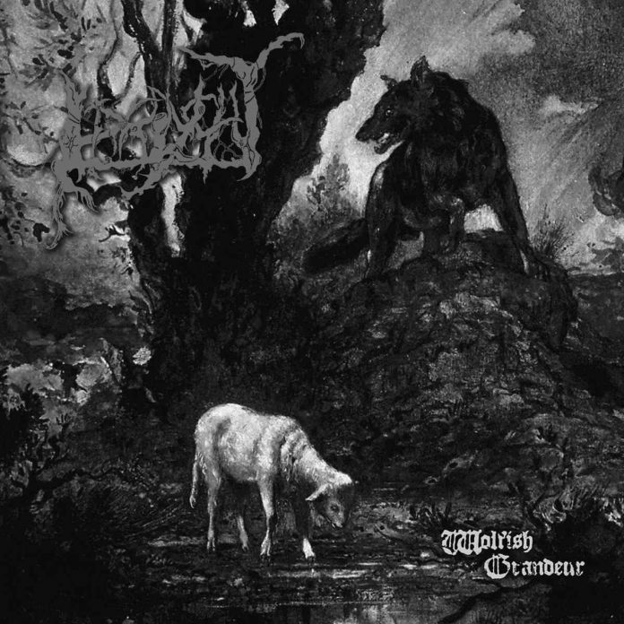 irrlycht - wolfish grandeur - album cover