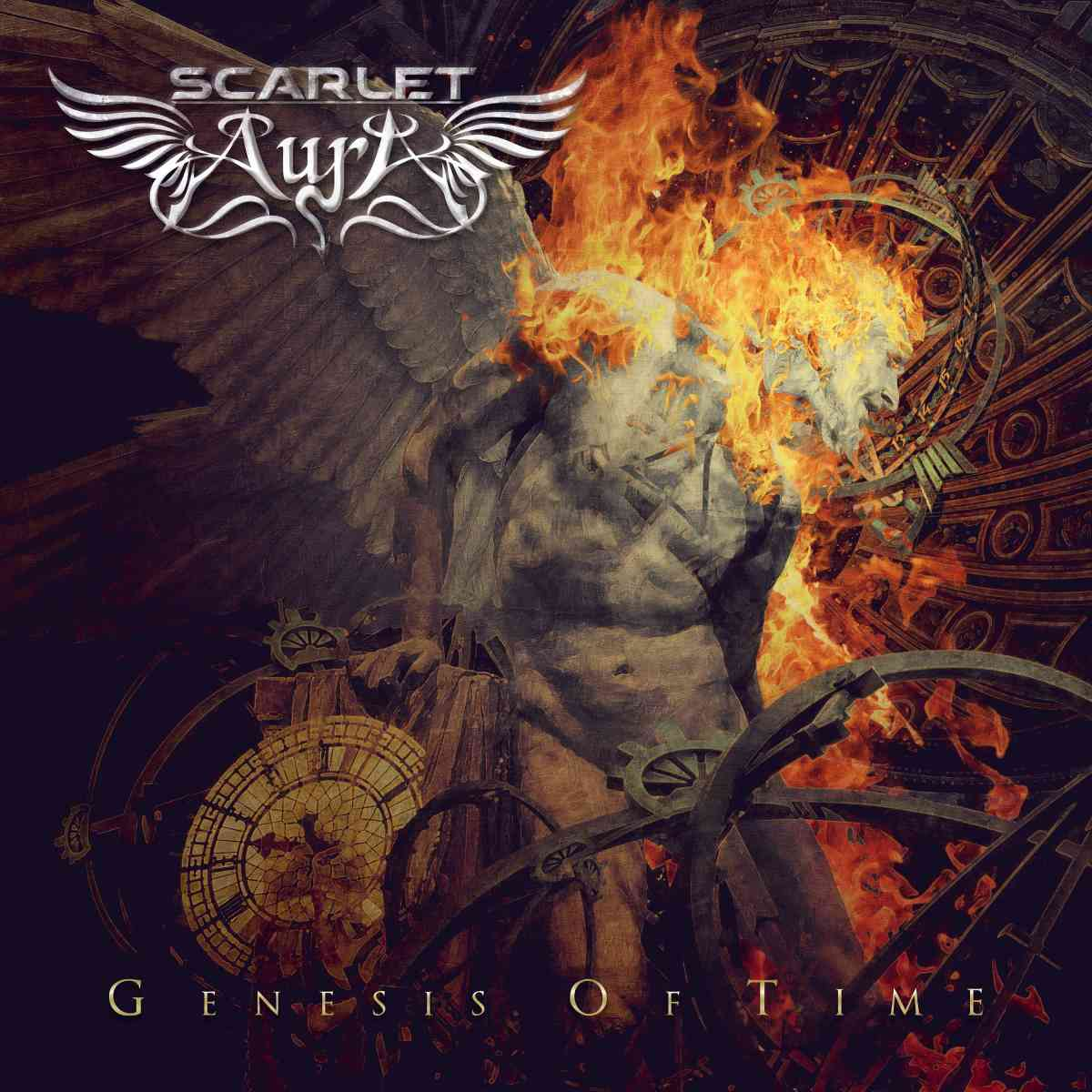 scarlet aura - genesis of time - album cover