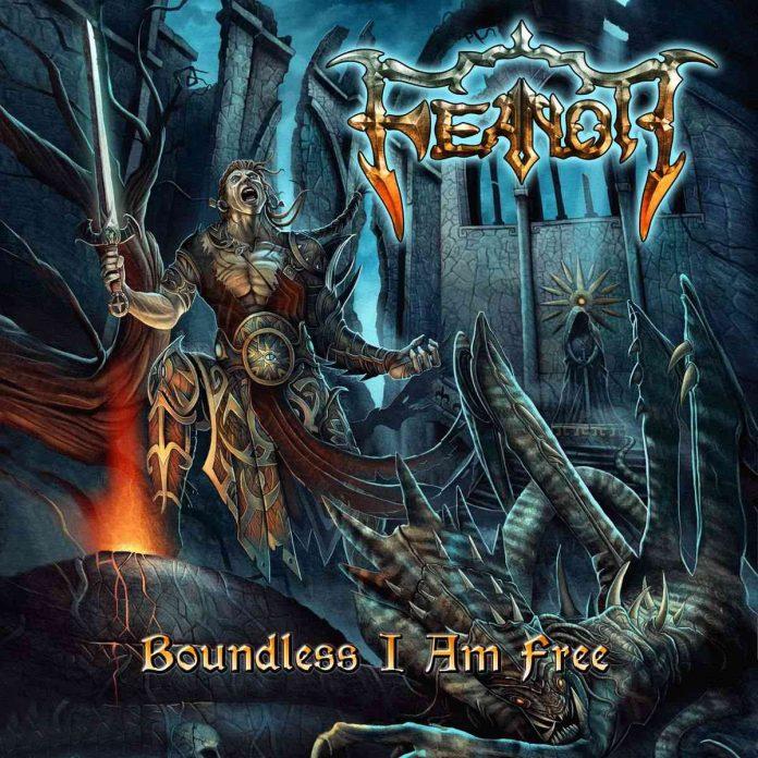 feanor - Boundless I Am Free - album cover