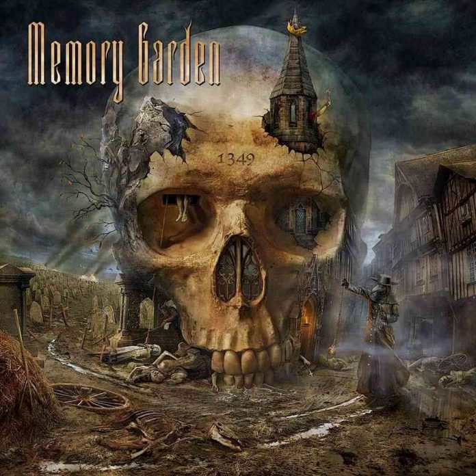 memory garden - 1349 - album cover